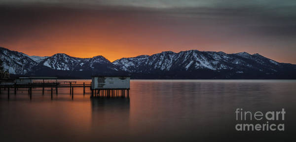 South Lake Tahoe Photograph - Silky Sunset by Mitch Shindelbower