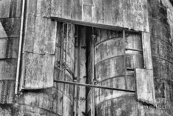 Photograph - Silo by Paul W Faust -  Impressions of Light