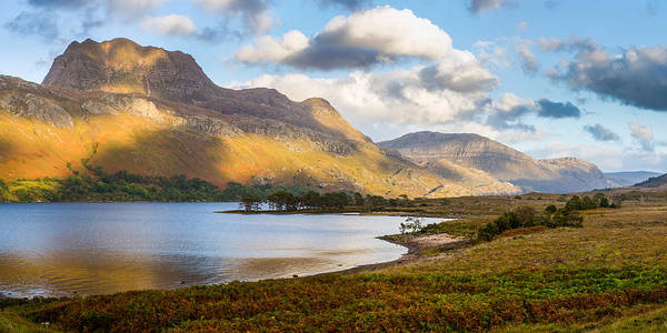 Photograph - Slioch From Loch Maree by Gary Eason