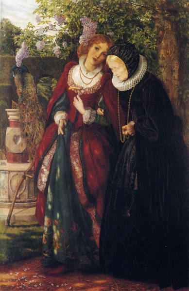 Silver And Gold Digital Art - Silver And Gold by Arthur Hughes