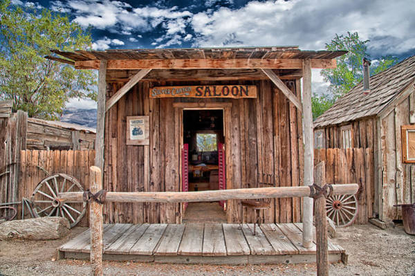 Photograph - Silver Canyon Saloon by Cat Connor