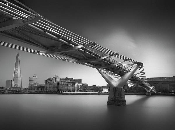United Kingdom Photograph - Silver City 3 by Ahmed Thabet