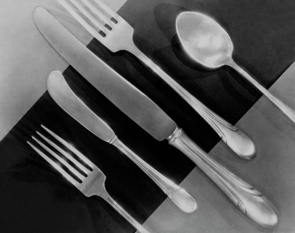 Silver Cutlery By Symphony By Towle Art Print