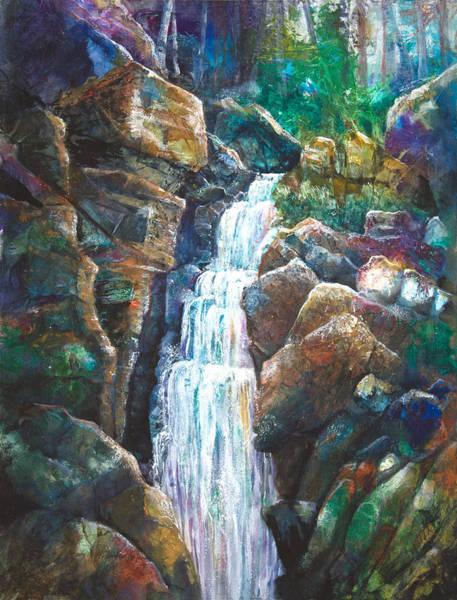 Silver Falls Art Print