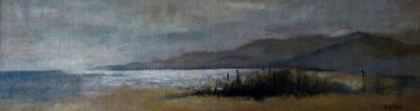 Painting - Silver Night On Creta by Karina Plachetka