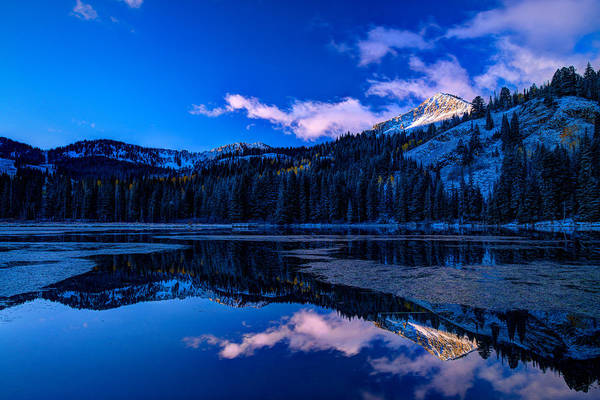 Photograph - Silver Lake by Dustin  LeFevre