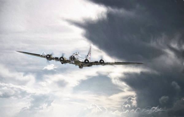 Battle Of Britain Digital Art - Silver Lining by Peter Chilelli