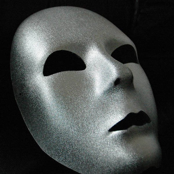 Photograph - Silver Mask by Dragan Kudjerski