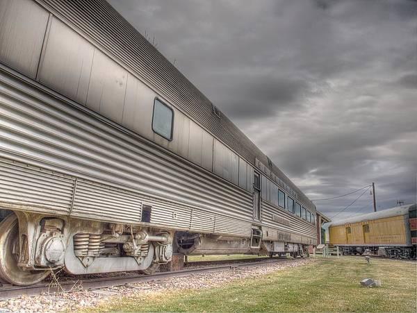 Photograph - Silver Salver by HW Kateley