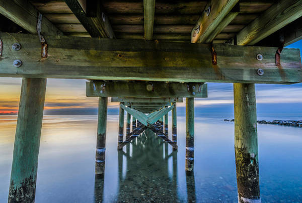 Photograph - Silver Sands Jetty by Randy Scherkenbach