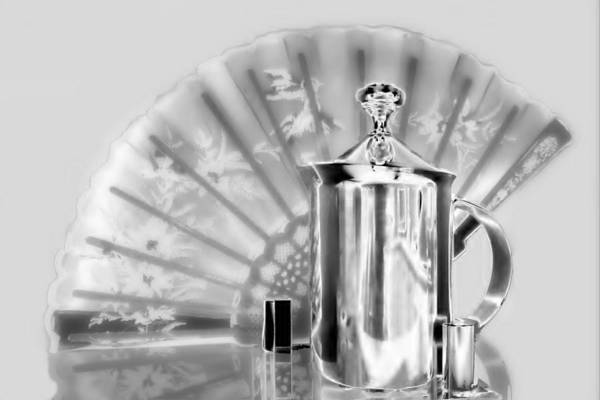 Photograph - Silver Service by David Rich