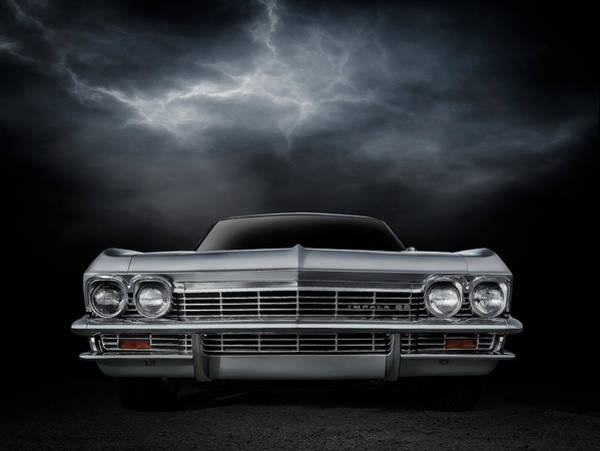 Chevrolet Digital Art - Silver Sixty Five by Douglas Pittman
