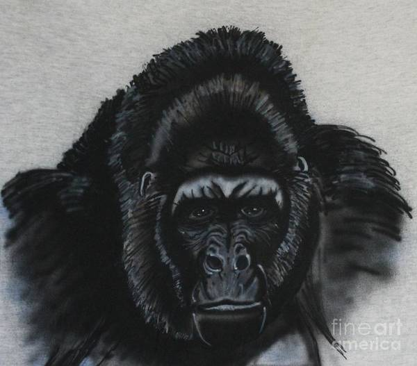 Painting - Silverback  by Bob Williams