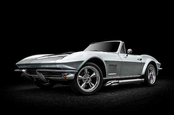 Corvette Wall Art - Digital Art - Silversmith by Douglas Pittman