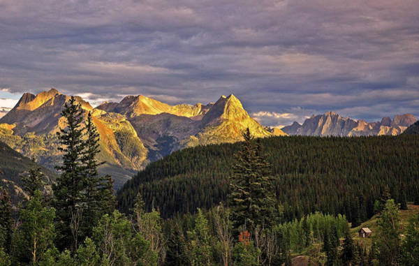Photograph - Silverton Sunset Colorado by Ginger Wakem