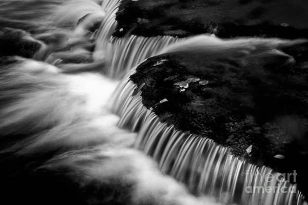 Photograph - Silvery Falls by Paul W Faust -  Impressions of Light