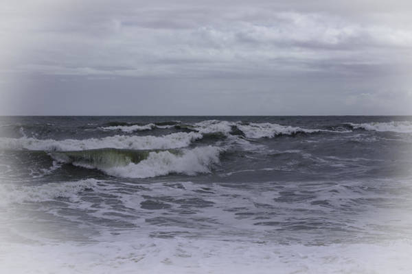 Photograph - Silvery Surf by Judy Hall-Folde