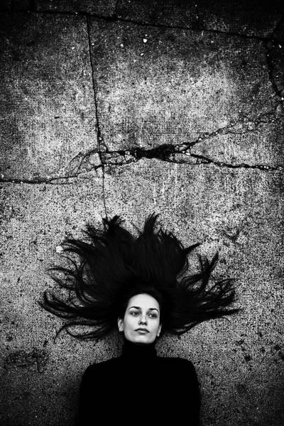 Pavement Wall Art - Photograph - Silvia by Vedran Vidak