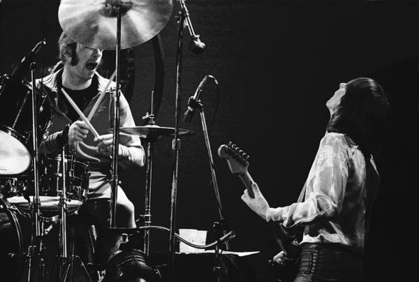 Photograph - Simon And Mick Of Bad Company In 1977 by Ben Upham