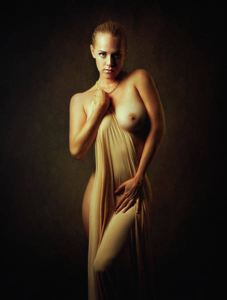 Sensuality Wall Art - Photograph - Simple Beauty by Zachar Rise