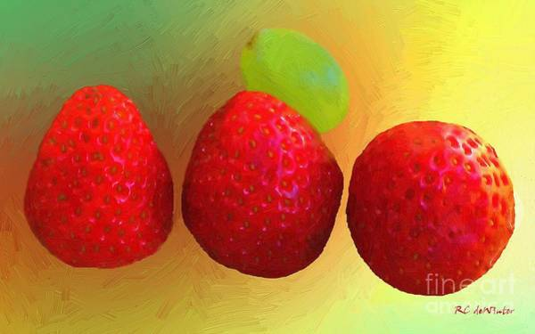 Painting - Simple Goodness by RC DeWinter