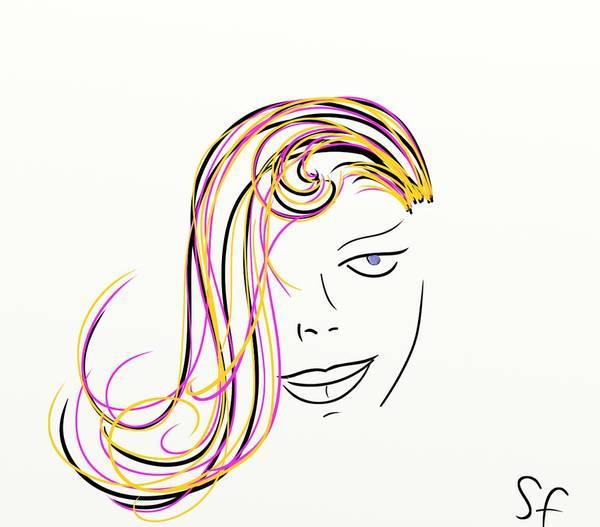 Painting - Simple Lines by Sotiris Filippou