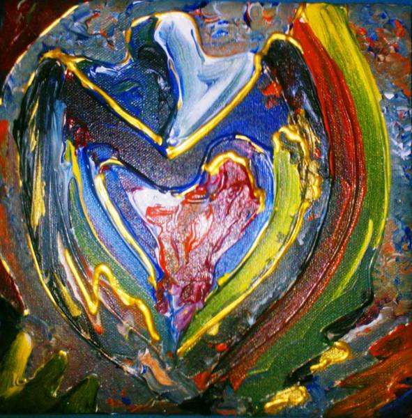 Painting - Simply Love by Ray Khalife
