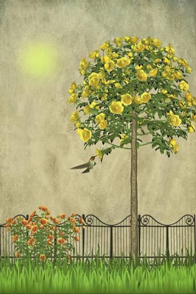 Dehner Digital Art - Simply Spring by David Dehner