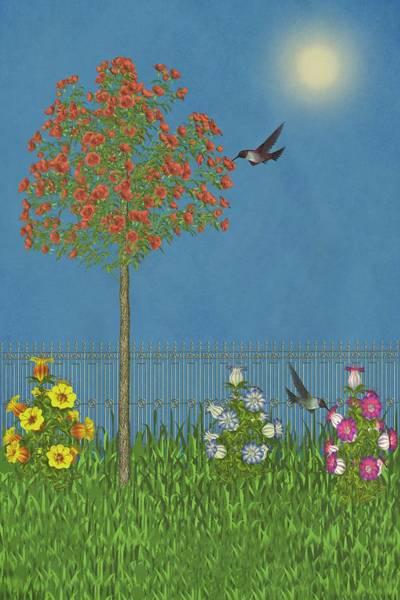 Dehner Digital Art - Simply Spring II by David Dehner