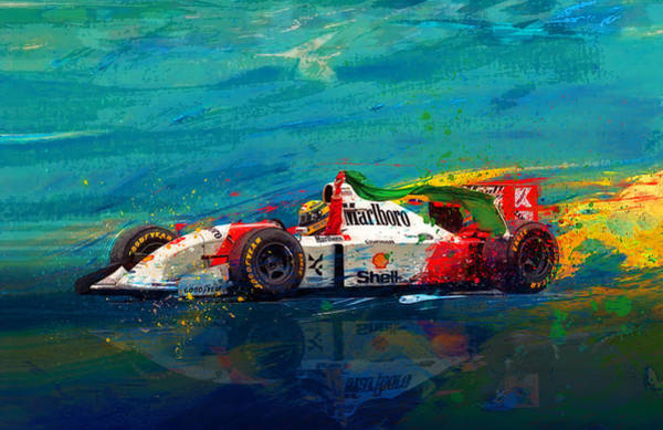 Car Mixed Media - Simply The Best by Alan Greene