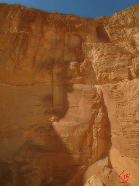 Photograph - Sinai Desert Sand Formation  Mountain Egypt by Colette V Hera  Guggenheim