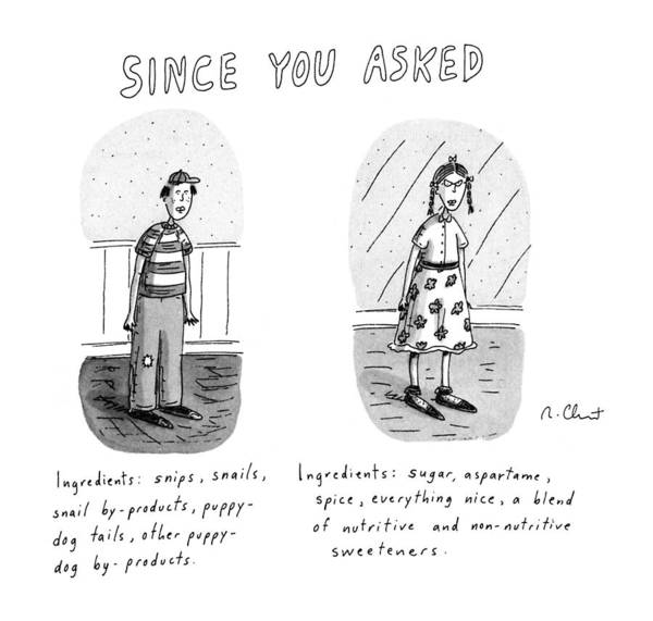 November 11th Drawing - Since You Asked by Roz Chast