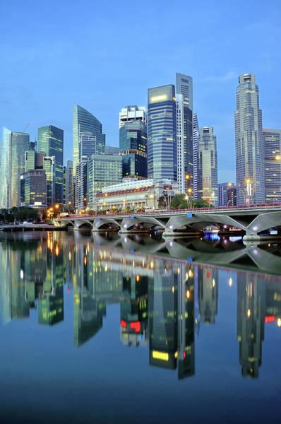 Wall Art - Photograph - Singapore Cbd by Photo By Salvador Manaois Iii