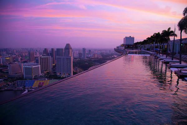 Singapore, Marina Bay Sands Hotel Art Print by Jaynes Gallery