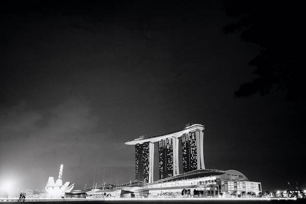 Photograph - Singapore Nights by Shaun Higson
