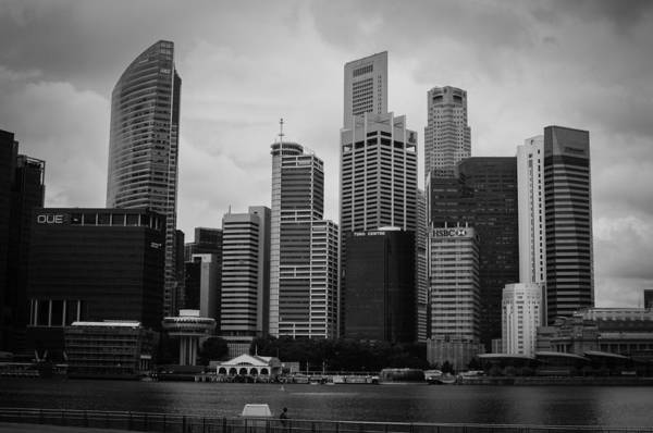 Photograph - Singapore Skyline by Miguel Winterpacht