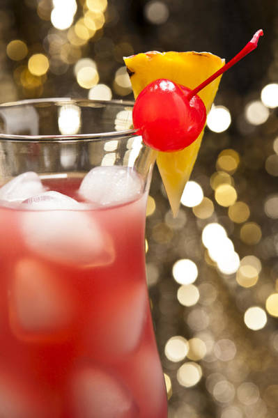 Photograph - Singapore Sling Cocktail by U Schade