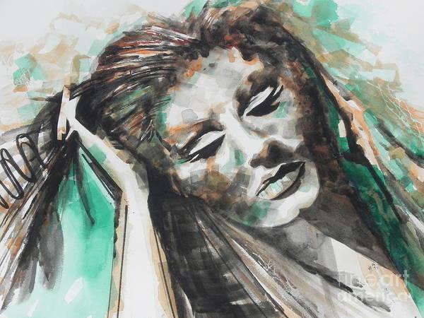 Adele Painting - Singer Adele 01 by Chrisann Ellis