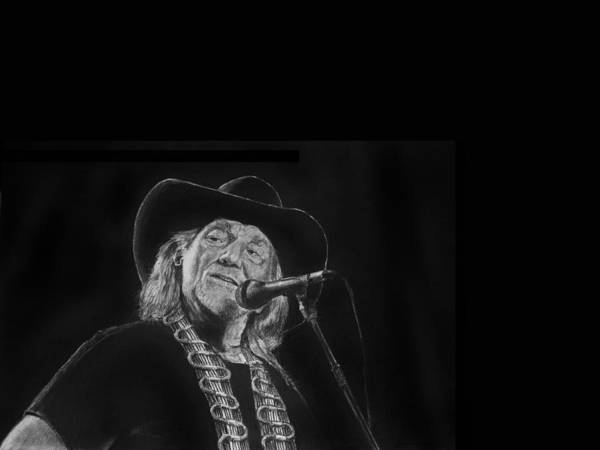 Drawing - Singing Willie by William Underwood