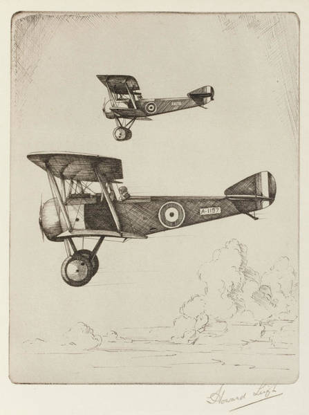 Pup Drawing - Single-seat Scout Or Fighter,  Popular by Mary Evans Picture Library