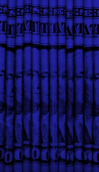 Caricature Mixed Media - Singles In Blue by Rob Hans