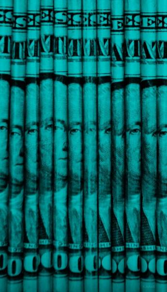 Caricature Mixed Media - Singles In Turquois by Rob Hans