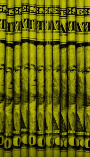 Caricature Mixed Media - Singles In Yellow by Rob Hans