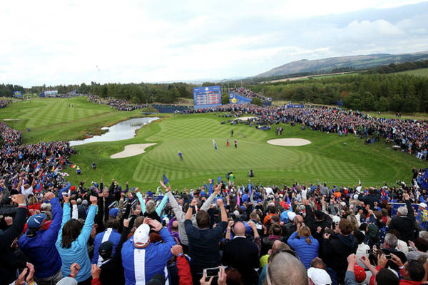Golf Course Photograph - Singles Matches - 2014 Ryder Cup by Jan Kruger