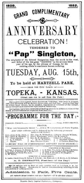 Painting - Singleton Handbill, 1882 by Granger