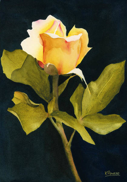 Painting - Singular Beauty by Ken Powers