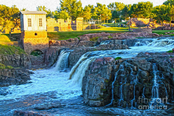 Painting - Sioux Falls - 02 by Gregory Dyer