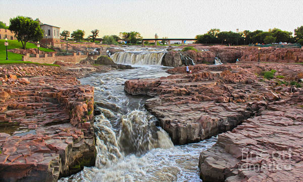 Painting - Sioux Falls - 03 by Gregory Dyer