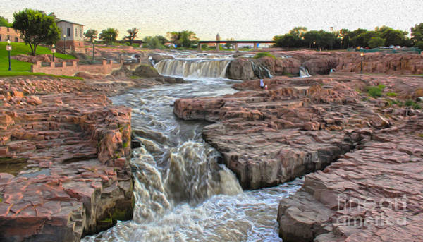 Painting - Sioux Falls - 04 by Gregory Dyer