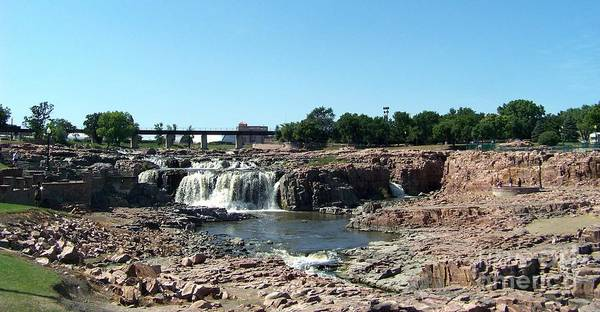 Photograph - Sioux Falls by Charles Robinson